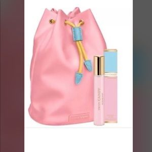 Prada Candy pouch and mini hair mist